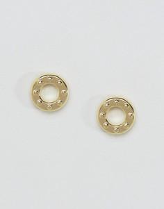 Серьги-кольца DyrbergKern - Золотой