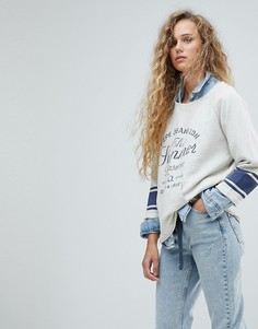 Свитшот Pepe Jeans Summer Pleasures Sports - Синий