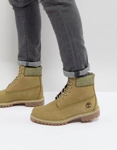 Премиум-ботинки высотой 6 дюймов Timberland Iconic - Зеленый