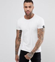 Белая футболка с круглым вырезом Replay - Белый