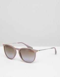 Розовые круглые солнцезащитные очки Ray-Ban 0RB4171 - 68 мм - Розовый