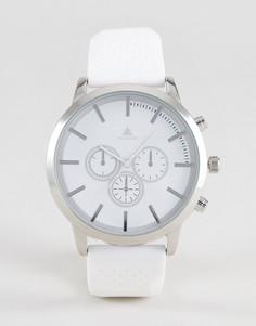 Белые большие часы ASOS - Белый