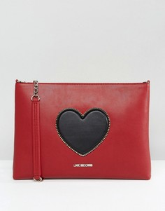 Сумка через плечо Love Moschino - Красный