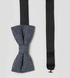 Фактурный галстук-бабочка Noak - Темно-синий