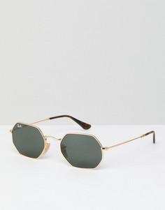 Солнцезащитные очки Ray-Ban 0RB3556N - 53 мм - Золотой