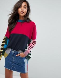 Джемпер в полоску Tommy Jeans - Красный