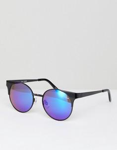 Солнцезащитные очки кошачий глаз с затемненными стеклами Quay Australia Asha - Черный