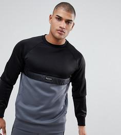 Черно-серый спортивный свитшот Nicce London TALL - Черный