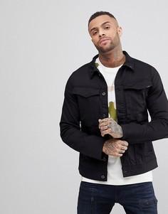 Джинсовая куртка узкого кроя G-Star Vodan 3D - Черный