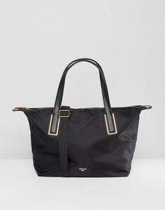 Черная нейлоновая сумка на плечо Dune Dindy - Черный