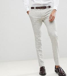 Суперзауженные брюки крапчатой расцветки Noak - Серый