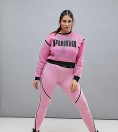 Фиолетовые леггинсы Puma Plus эксклюзивно для ASOS - Фиолетовый
