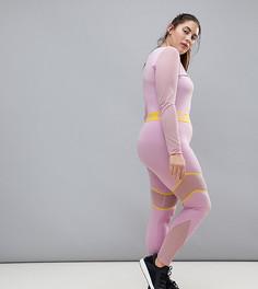 Сиреневые леггинсы Puma Plus эксклюзивно для ASOS - Розовый