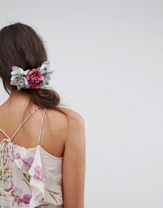 Расческа для волос с цветочной отделкой ASOS Occasion - Мульти