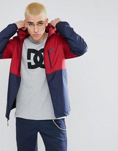 Легкая куртка в стиле колор блок DC Shoes Dagup - Красный
