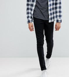 Черные джинсы скинни из денима плотностью 12.5 унц ASOS TALL - Черный