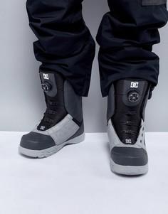 Сноубордические ботинки с двузонной застежкой Boa от DC Shoes - Серый