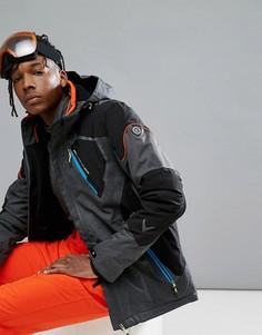 Лыжная куртка с капюшоном Killtec Senor - Серый