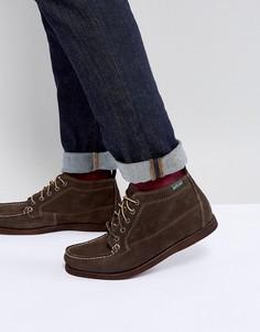 Темно-оливковые замшевые ботинки Eastland Seneca - Коричневый