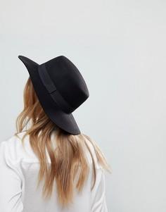 Шляпа канотье регулируемого размера ASOS - Черный
