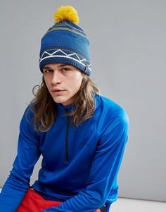 Лыжная шапка-бини на флисовой подкладке Dare 2b - Синий