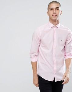 Зауженная розовая рубашка Tommy Hilfiger - Розовый
