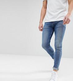 Темно-синие джинсы скинни Noak - Синий