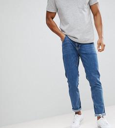 Выбеленные узкие джинсы Noak - Синий