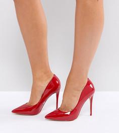 Красные туфли-лодочки для широкой стопы с острым носом ALDO - Красный