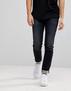 Темные джинсы Diesel Sleenker - Темно-синий
