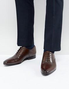 Коричневые кожаные оксфордские туфли Ted Baker Murain - Коричневый