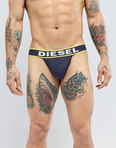 Черные/желтые трусы Diesel - Черный