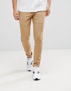 Эластичные супероблегающие брюки чиносы Kronstadt - Зеленый Kronstradt