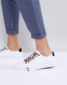 Белые парусиновые кроссовки Tommy Hilfiger Dino - Белый