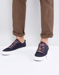Темно-синие парусиновые кроссовки Tommy Hilfiger Dino - Темно-синий