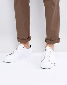 Белые кожаные кроссовки Tommy Hilfiger Dino - Белый