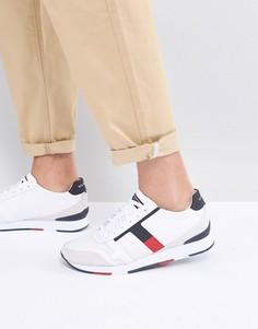 Белые кожаные кроссовки Tommy Hilfiger Leeds - Белый