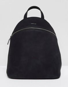 Черный рюкзак из искусственной замши Matt & Nat Aries - Черный