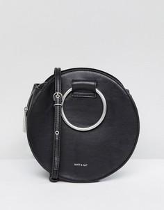 Сумка с ручками-кольцами и ремешком через плечо Matt & Nat Sina - Черный