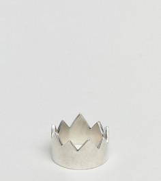 Серебряное кольцо в форме короны Serge DeNimes - Серебряный