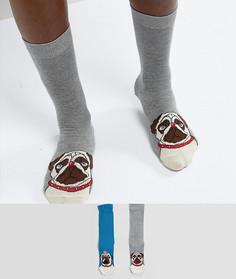 2 пары носков ASOS - Мульти