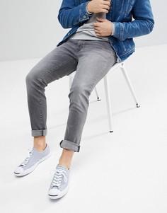 Узкие серые джинсы Wrangler - Серый