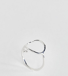 Серебряное кольцо Monki - Серебряный