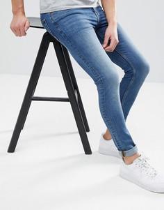 Синие джинсы скинни ASOS - Черный
