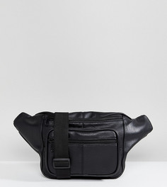 Черная сумка-кошелек на пояс Shikumi - Черный