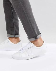 Белые кожаные кроссовки Fred Perry Spencer - Белый