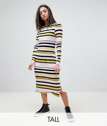 Платье миди в полоску Noisy May Tall - Мульти