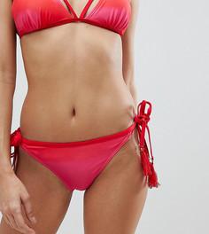 Трусы бикини с завязками и принтом Vero Moda - Мульти