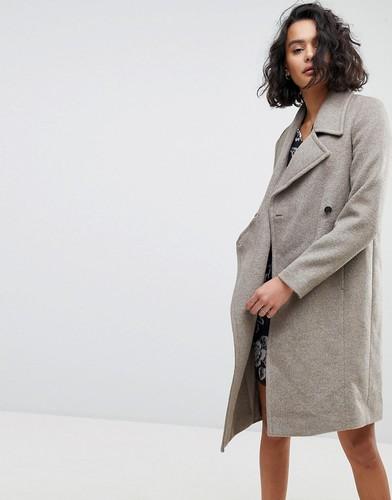 Пальто oversize от AllSaints - Коричневый