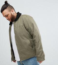 Куртка с меховым воротником Ringspun PLUS - Зеленый